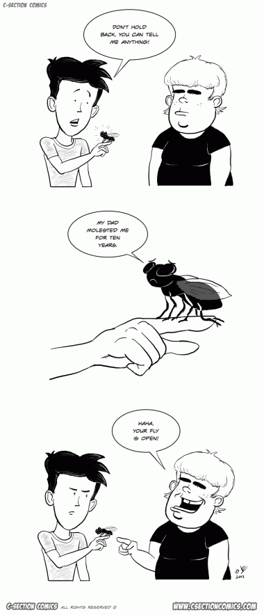 Poor Fly - by C-Section Comics