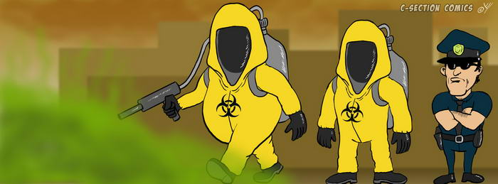 Facebook Cover Photo - Bio Hazard