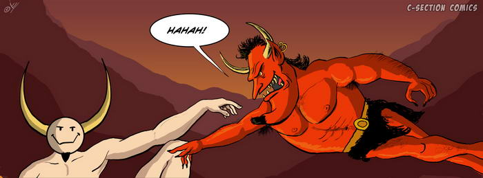 Facebook Cover Photo - Creation of Devil