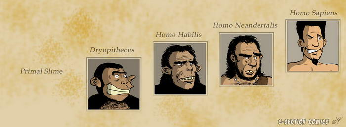 Facebook Cover Photo - Evolution of Man