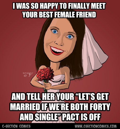 Overly Attached Bride - Female Friend
