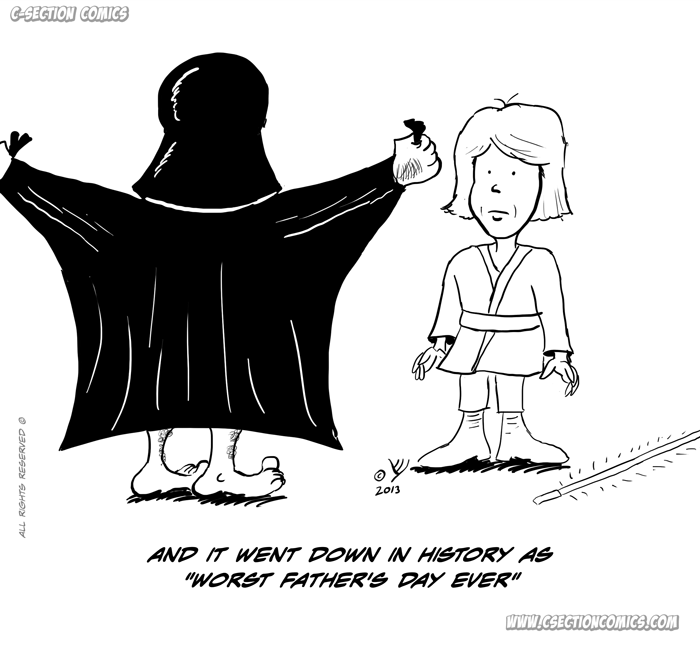 Luke Skywalker's Father's Day