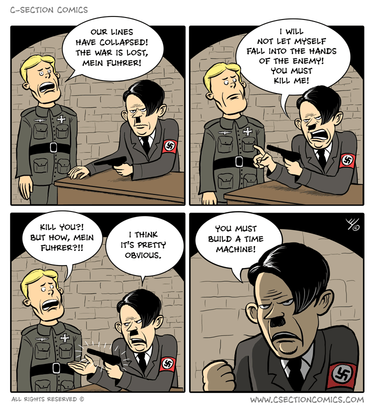 The Downfall Of Hitler C Section Comics