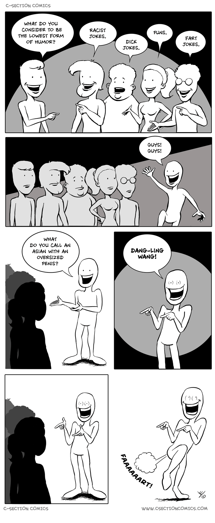 The Lowest Form of Humor by C-Section Comics