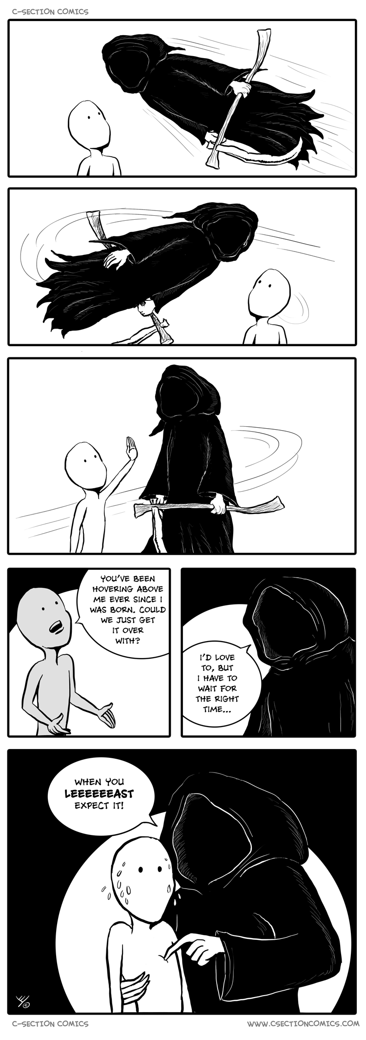 Angel of Death - by C-Section Comics