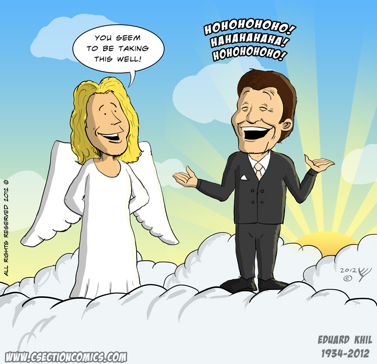 Eduard Khil in Heaven - RIP Trololo Guy