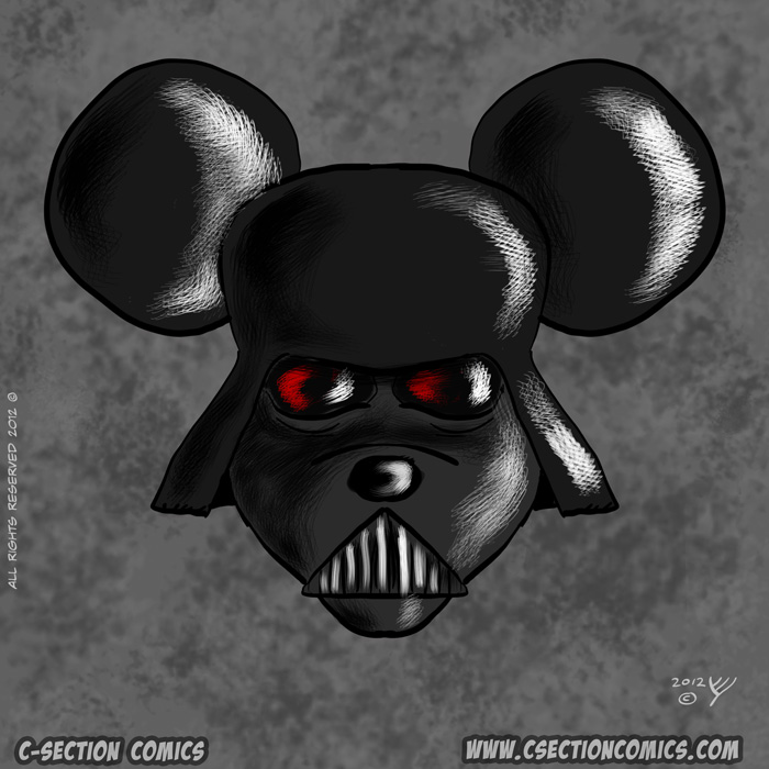 Darth Vader Mickey Mouse - Disney Buys Lucasfilm