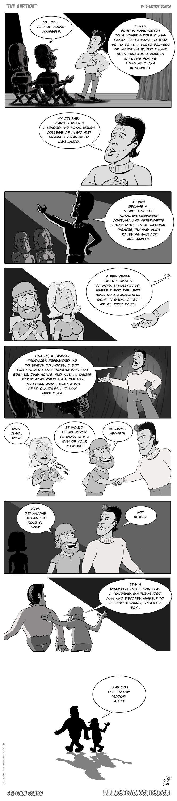 The Audition by C-Section Comics
