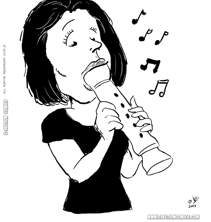 Her Special Flute