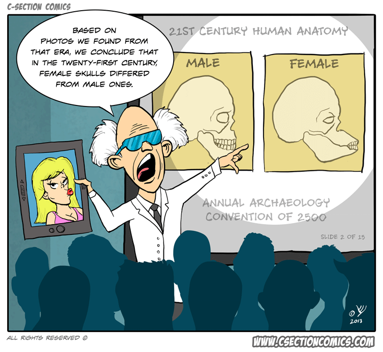 Future Archaeologists - C-Section Comics