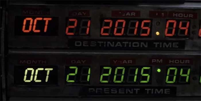 BTTF October 21st 2015 date movie screenshot