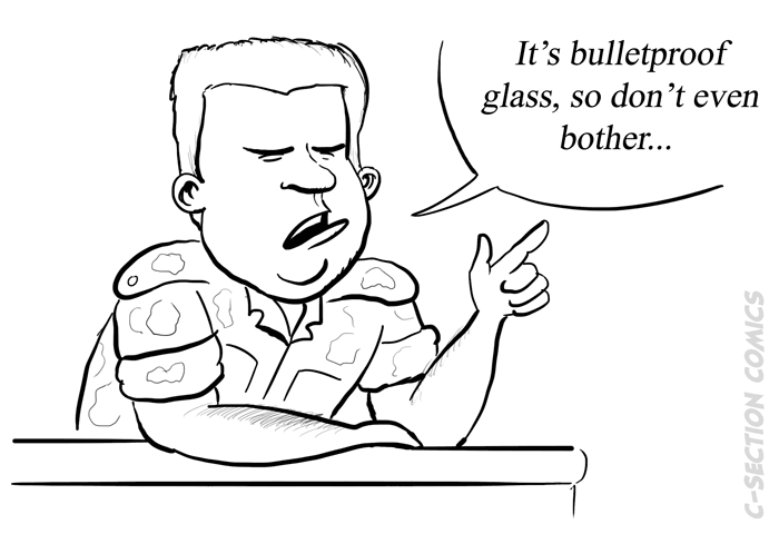Military glass ceiling - bonus comic
