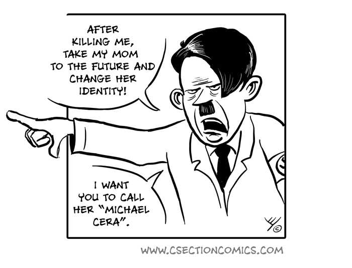 Hitler in the Bunker - Bonus Comics