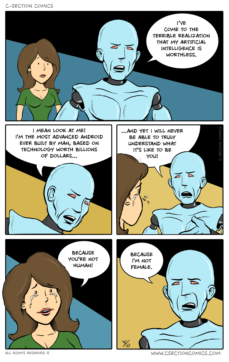The Limits of Artificial Intelligence - by C-Section Comics