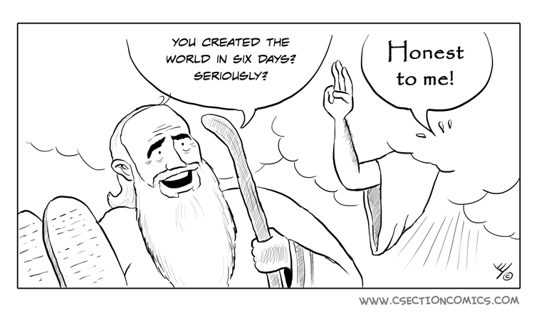 Moses and God - Honest to Me