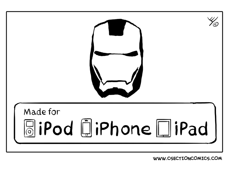 Iron Man - made for iPhone