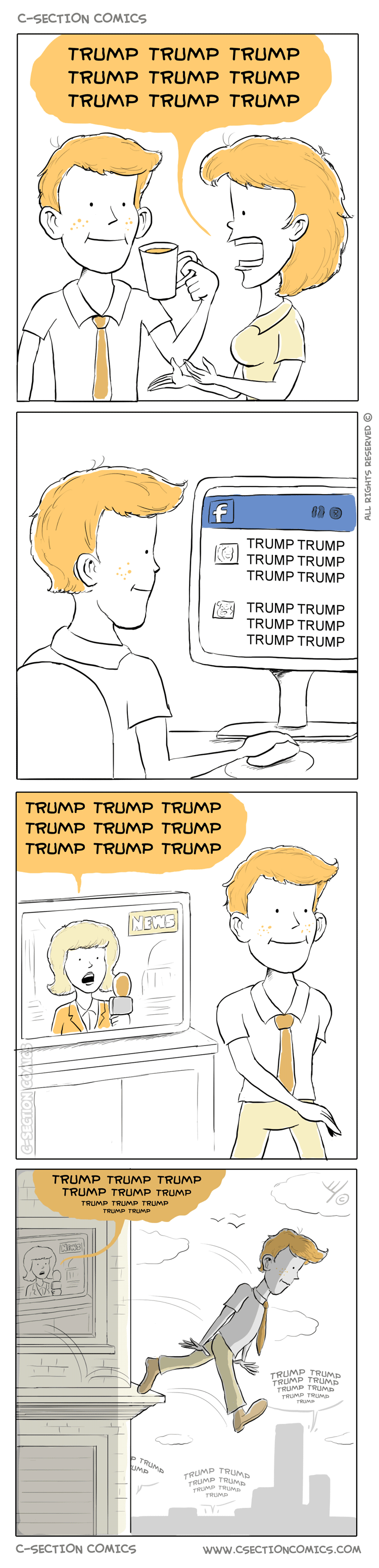 Trump Trump Trump - by C-Section Comics