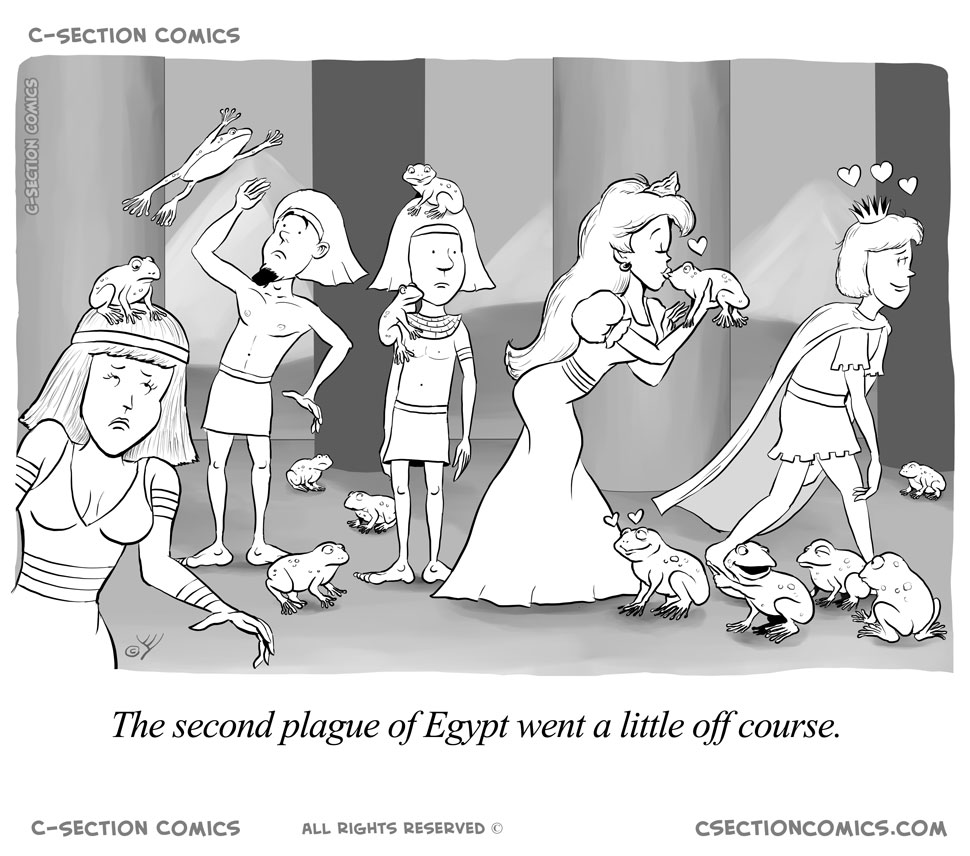 Frogs - The Second Plague of Egypt - Princess
