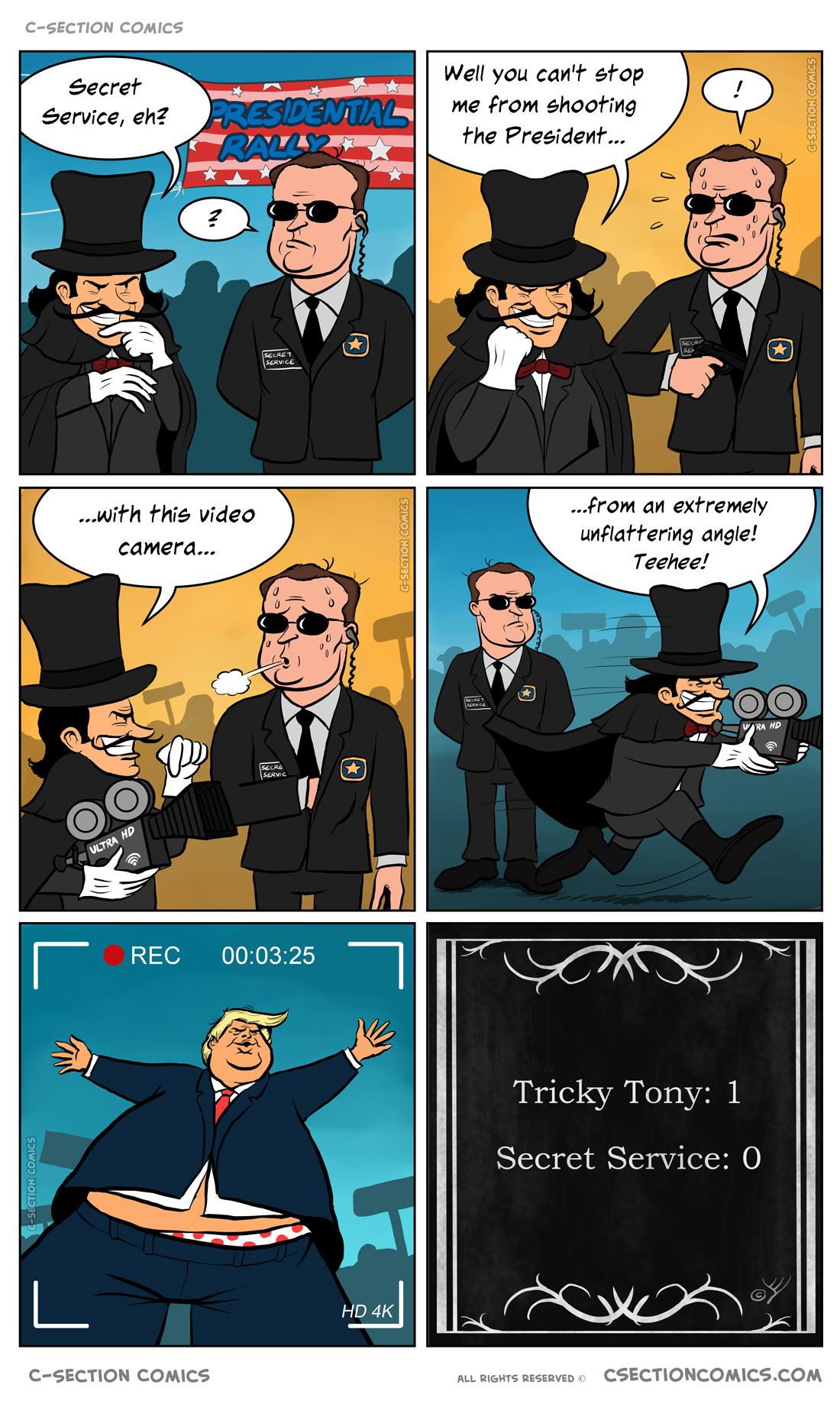 Tricky Tony vs. the Secret Service